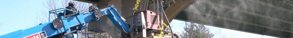 Robotic Partial-depth Hydro Demolition for Bridge