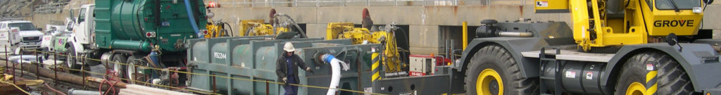 Hydro demolition in drilled shafts to remove anomalies