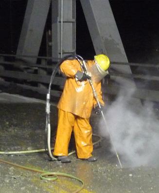 Hand-held Hydro Demolition Services