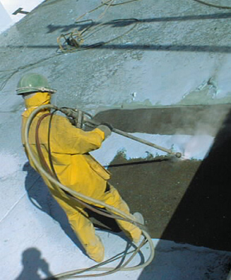 Epoxy coating removal in municipal pool