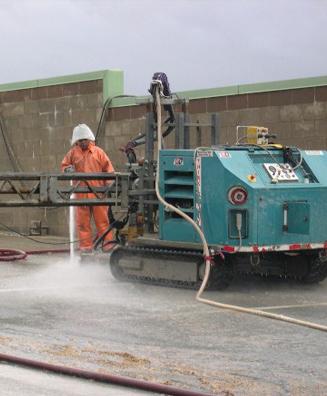 Concrete preparation scarification